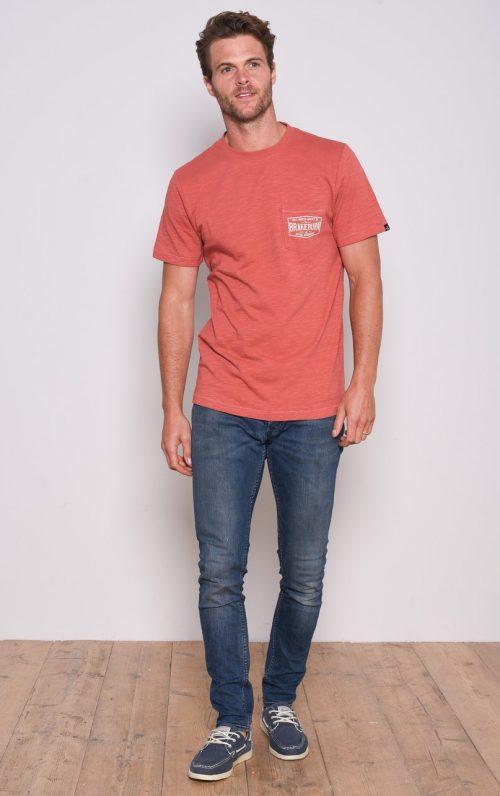 Brakeburn Red Adventure T-Shirt