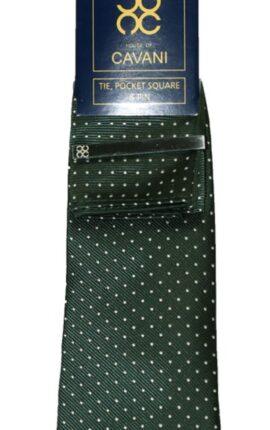 Cavani Green Tie Set