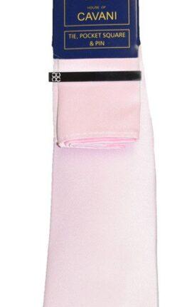 Cavani pink Tie Set