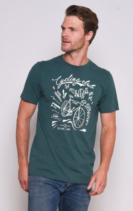 Brakeburn Green Cycling T-Shirt
