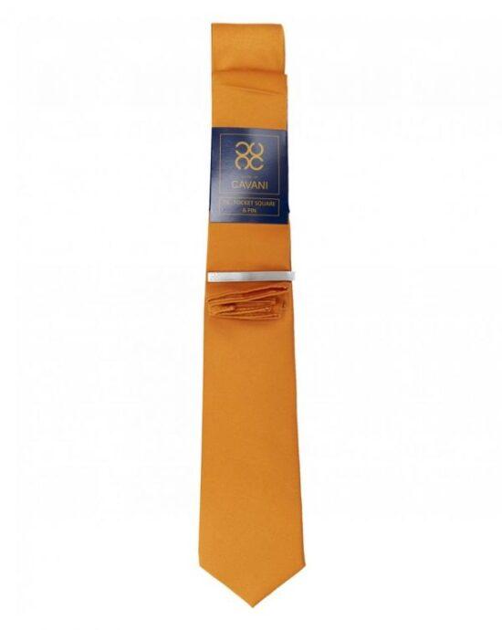 Cavani Yellow Tie Set