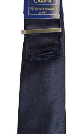 Cavani Navy Tie Set