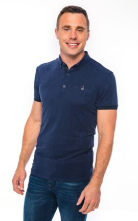XV Kings Crusaders Maple Blue Polo Shirt