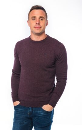 XV Kings Finn Valley Plum Mix Jumper