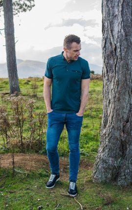XV Kings Crusaders Highland Moss Polo Shirt