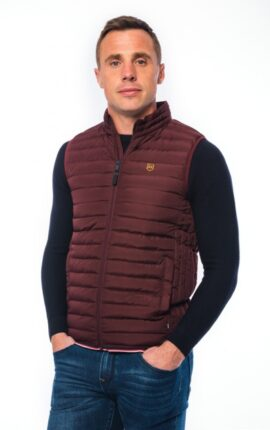 XV Kings Wesley Crimson Gilet