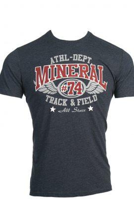 Mineral Delray Navy T-Shirt