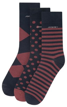 Jockey Mixed Print Socks 3-Pack