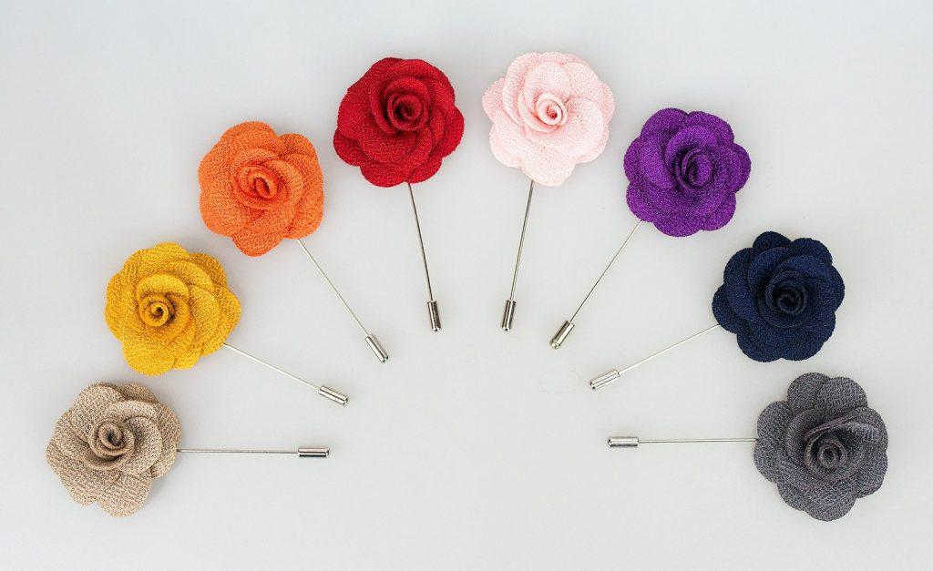 Cavani Flower Lapel Suit Pins 2021