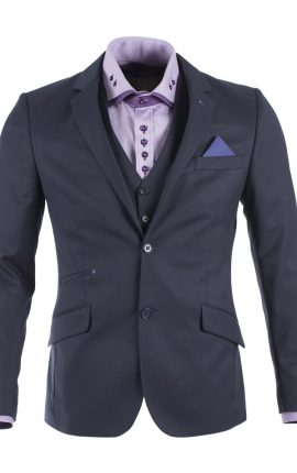 Guide London Navy Suit Blazer