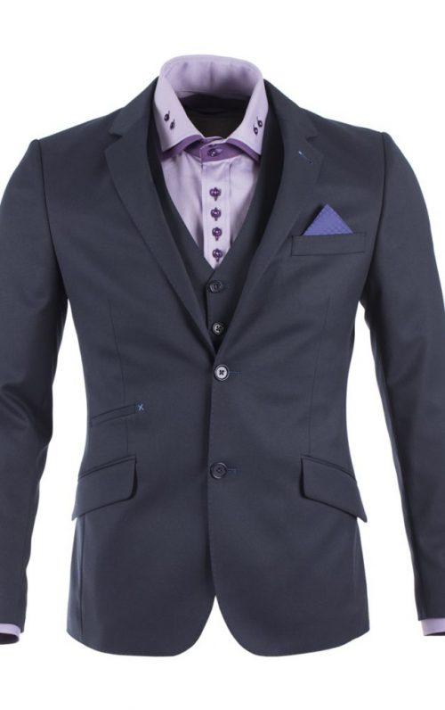 Guide London Navy Suit Blazer