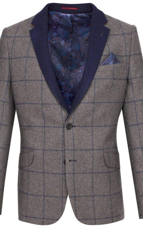 Guide London Grey Check Blazer