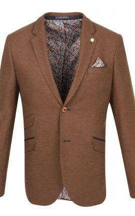 Guide London Rust Wool Blazer