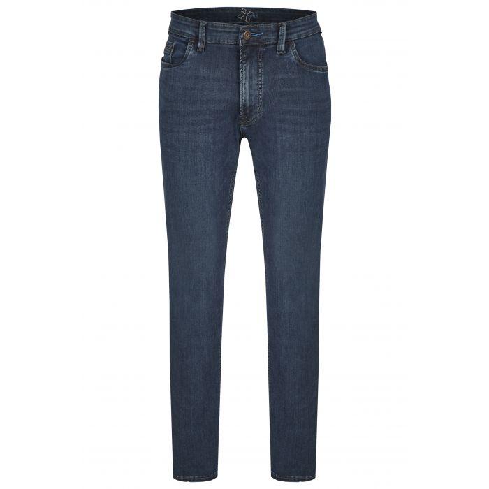 Hattric High Stretch Denim Hunter Blue Wash Jeans