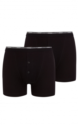 Jockey Modern Classic Y-Front Button Fly Boxer Trunk 2-Pack