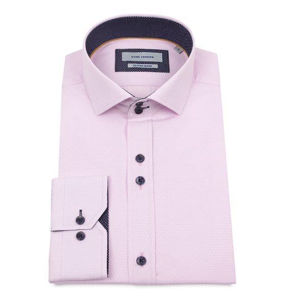 Guide London Pink Oxford Shirt