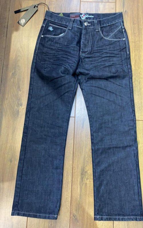 Guide London Checker Indigo Wash Jeans