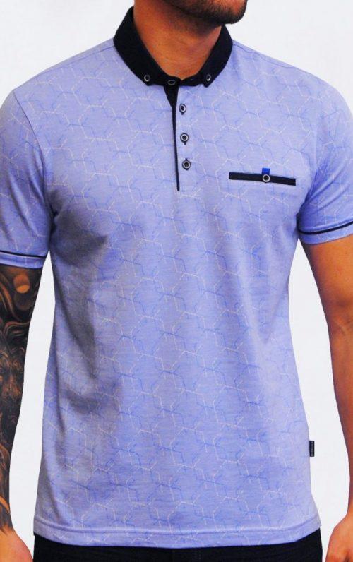 Astro Sky Jacquard Polo Shirt
