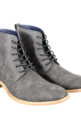 Cavani Hurricane Grey Lace Up Boot