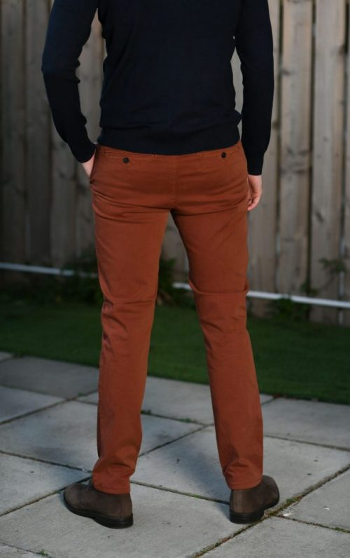 Sea Barrier Whisky Rust Chinos