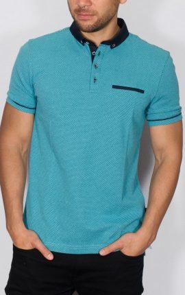 Tevez Polo Shirt Turquoise