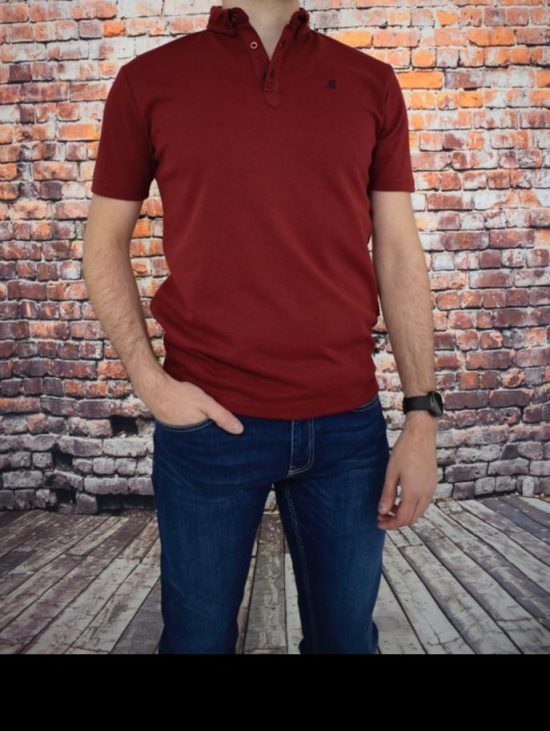 Mineral Reshmi Burgundy Polo Shirt