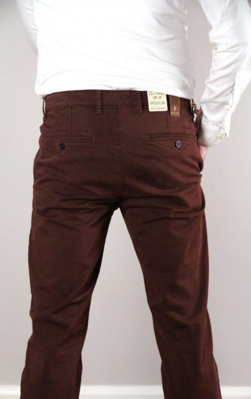 Sea Barrier Whisky Burgundy Chinos