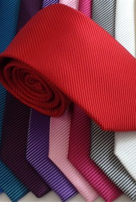 Montagu Coloured Rib Weave Tie