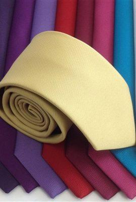 Montagu Coloured Plain Tie