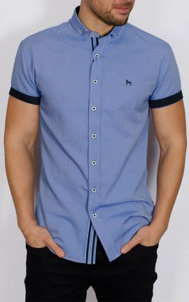Galand Short Sleeved Shirt Blue