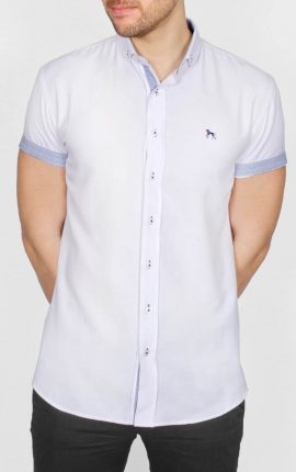 Galand Short Sleeved Shirt White
