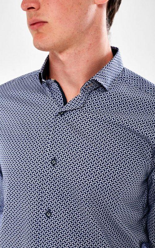 Scott and Wade Belga Print Shirt