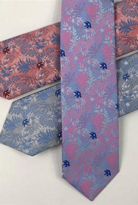 Fletcher's Gallery Floral Tie & Pocket Square