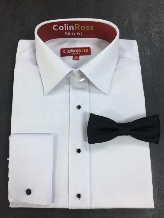 Colin Ross Dobby White Shirt