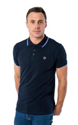 XV Kings Crosshaven Ocean Mix Polo Shirt