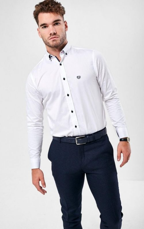Scott and Wade Gaz White Shirt