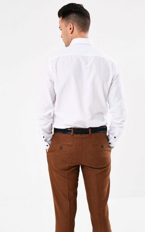 Scott and Wade Union White Shirt