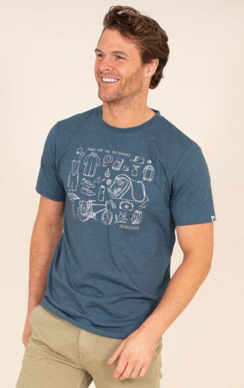 Brakeburn Camping Graphic T-Shirt