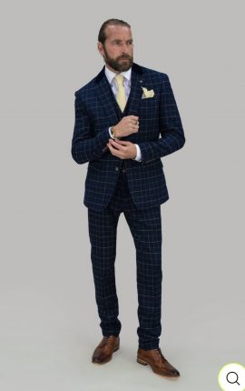 Cavani Suit Shelby Navy