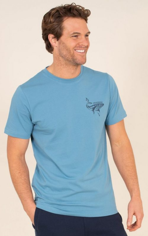 Brakeburn Blue Whale Graphic T-Shirt