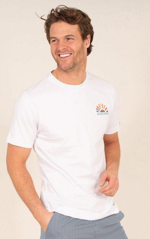 Brakeburn Palm Tree Print T-Shirt
