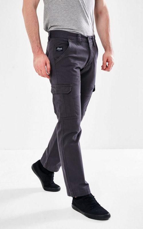 Mineral Earl Charcoal Combat Pants