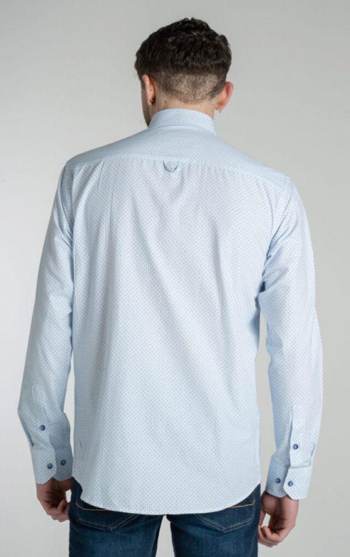Mineral Blas Sky Dotted Print Shirt