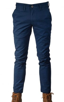 Mineral Dash Parlour Blue Stretch Chinos