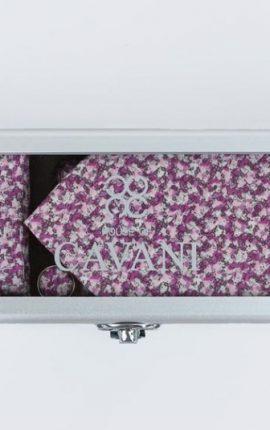 Cavani Pink Tie Gift Set