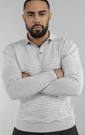 Cavani Otis Grey Polo Shirt