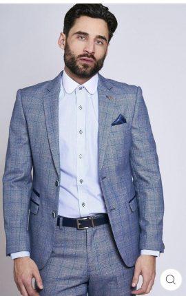 Marc Darcy Harry Blue 2 Piece Suit