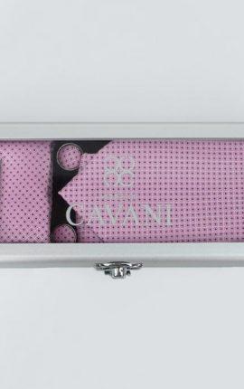 Cavani Pink Dot Tie Gift Set