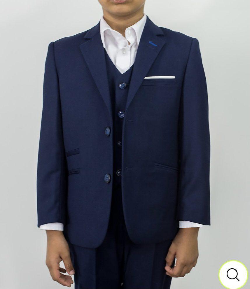 Cavani Jefferson Navy Boys Suit