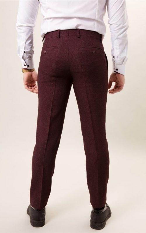 Fratelli Uniti Wine Trousers
